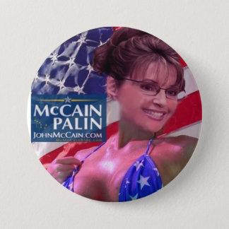 Karibu Barbi - Sarah Palin Runder Button 7,6 Cm