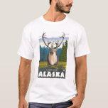 Karibu im wilden - Latouche, Alaska T-Shirt