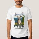 Karibu im wilden - Latouche, Alaska T Shirts