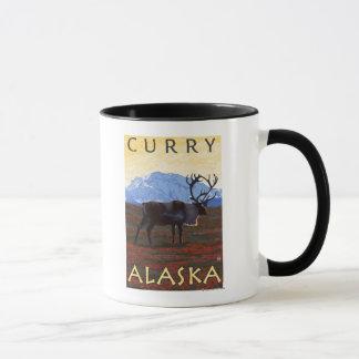 Karibu-Szene - Curry, Alaska Tasse