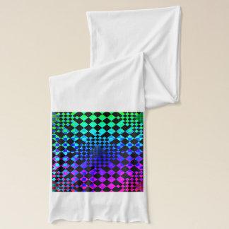 Karierter Illusions-Schal Schal