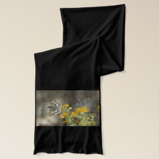 Karierter Kapitän-Schmetterling Schal