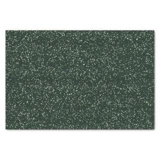 Karierter Rotwild-Geweih-Grün-Glitter Seidenpapier