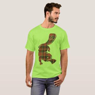 Kariertes platypus T-Shirt