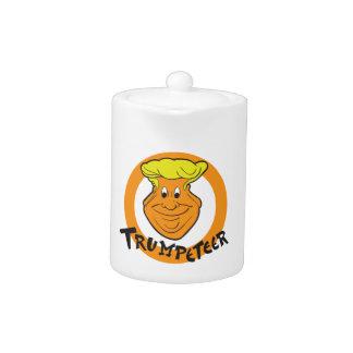 Karikatur Donald Trumpeteer
