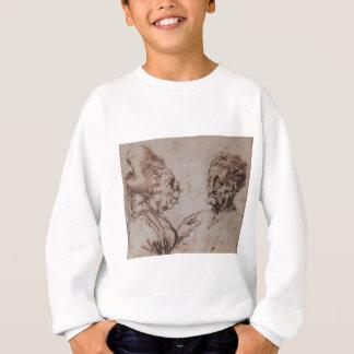 Karikatur durch Leonardo da Vinci Sweatshirt