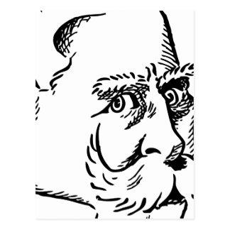 Karikatur Kaiser Wilhelm Postkarte