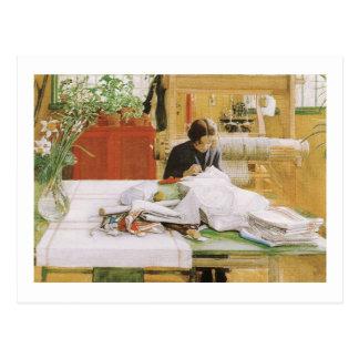 Karin-Nähen Postkarte