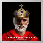 Karl der Große das große Plakat