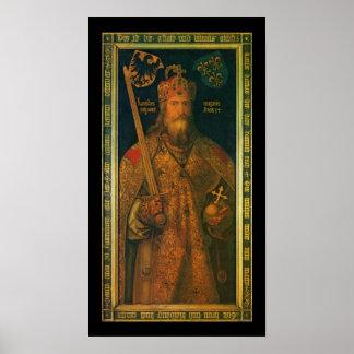 Karl der Große durch Dürer Plakat-Druck Poster