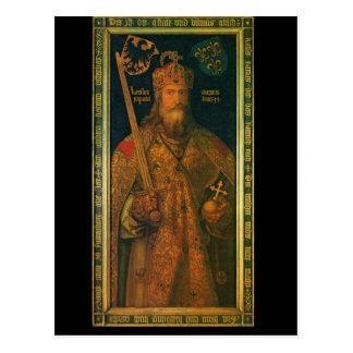 Karl der Große durch Dürer Postkarte