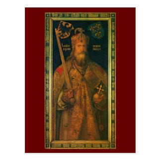 Karl der Große durch Durer Postkarte