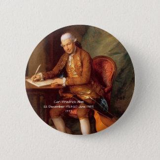 Karl Friedrich Abel Runder Button 5,1 Cm