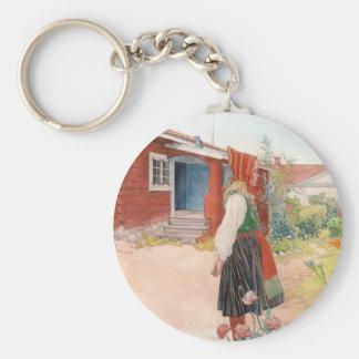 Karl Larsson - das Falun Zuhause Schlüsselanhänger
