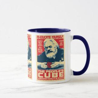 Karl Marx - der Würfel der Leute: OHP Tasse