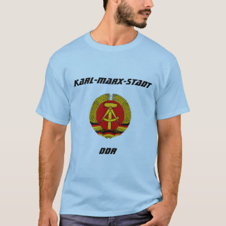 Karl-Marx-Stadt, DDR, Chemnitz, Deutschland T-Shirt