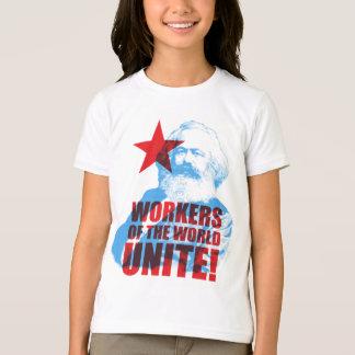 Karl- Marxarbeitskräfte der Welt vereinigen! T-Shirt