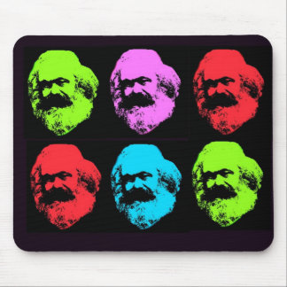 Karl- Marxcollage Mousepads