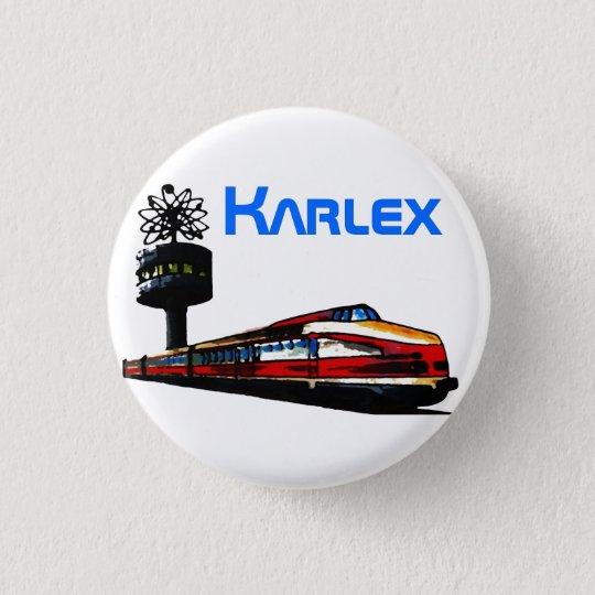 Karlex Design Runder Button 3,2 Cm