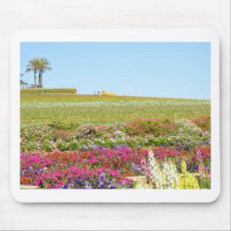 Karlsbad-Blumen-Felder Mousepad