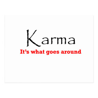 Karma 1 postkarte