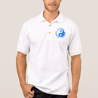 KARMA Kreis mit Yin Yang Symbol Polo Shirt