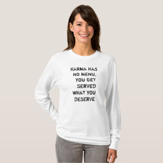 KARMA  Longsleeve  für Frauen T-Shirt