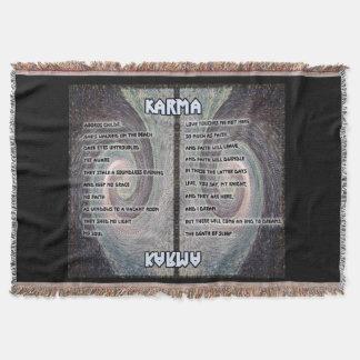 Karma Oboros Tapisserie-Wurf Decke