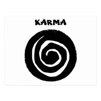 Karma Postkarte