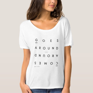 Karma-Slouchy Freund-T - Shirt