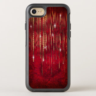 Karminroter roter OtterBox symmetry iPhone 8/7 hülle
