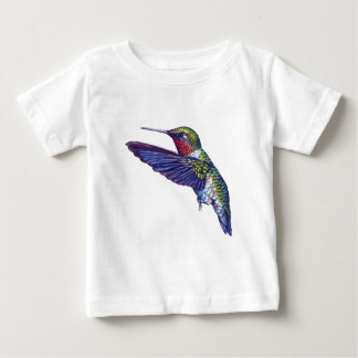 Karminroter Throated Kolibri Baby T-shirt