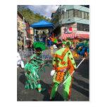 Karneval 2010 in Trinidad Postkarte