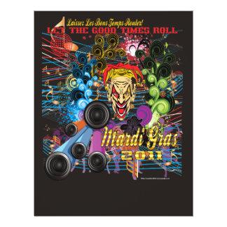 Karneval 2011 der Joker II 21,6 X 27,9 Cm Flyer