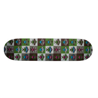 Karneval am Zoo - 9 Bernhards 21,6 Cm Skateboard Deck