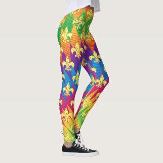 Karneval-Art bunt Leggings