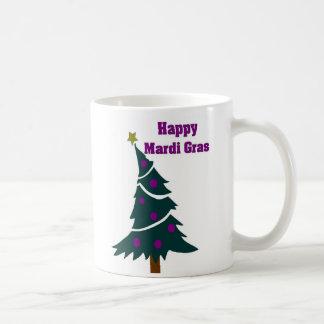 Karneval-Bäume Kaffeetasse