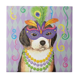 Karneval-Beagle Keramikfliese