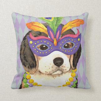 Karneval-Beagle Kissen