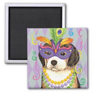 Karneval-Beagle Quadratischer Magnet