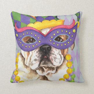Karneval-Bulldogge Kissen