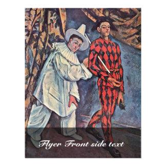 Karneval durch Paul Cézanne (beste Qualität) 21,6 X 27,9 Cm Flyer