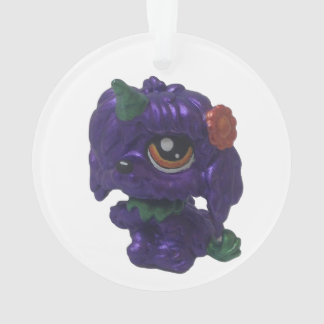Karneval-Einhorn-Hundeverzierung Ornament