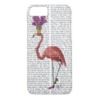 Karneval-Flamingo voll iPhone 8/7 Hülle