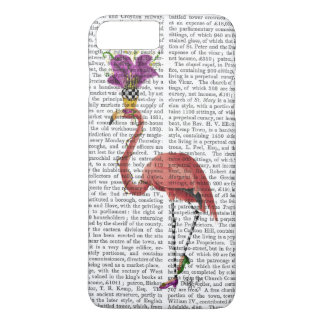 Karneval-Flamingo voll iPhone 8 Plus/7 Plus Hülle