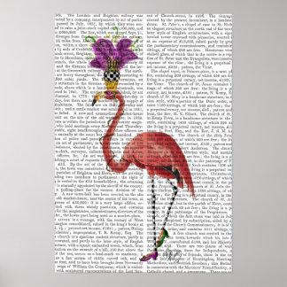 Karneval-Flamingo voll Poster