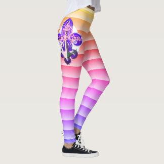 Karneval-Gamaschen Leggings
