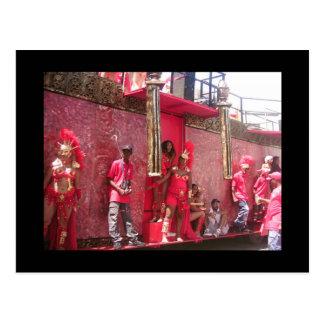 Karneval in Trinidad Postkarte
