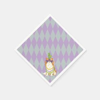 Karneval-Japaner Chin Papierserviette