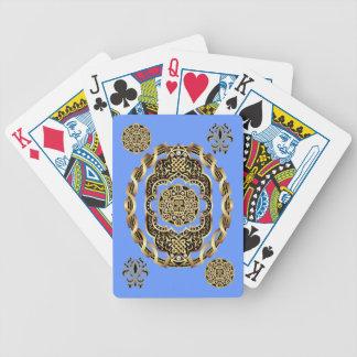 Karneval-Kartenspielen Fahrrad gelesen über Spielkarten